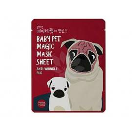 HOLIKA HOLIKA BABY PET MAGIC MASK MASKA W PŁACIE ANTI-WRINKLE PUG 22ML