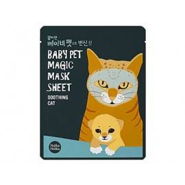 HOLIKA HOLIKA BABY PET MAGIC MASK MASKA W PŁACIE SOOTHING CAT 22ML