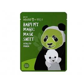 HOLIKA HOLIKA BABY PET MAGIC MASK MASKA W PŁACIE VITALITY PANDA 22ML