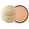 MAX FACTOR CREME PUFF PUDER 55 CANDLE GLOW