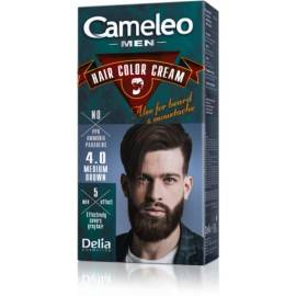DELIA CAMELEO MEN FARBA DO BRODY I WĄSÓW MEDIUM BROWN 4.0