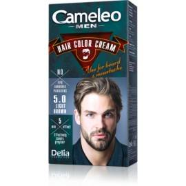 DELIA CAMELEO MEN FARBA DO BRODY I WĄSÓW LIGHT BROWN 5.0