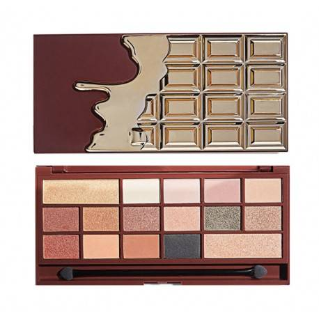 MAKEUP REVOLUTION 24K GOLD CHOCOLATE PALETA CIENI A'16