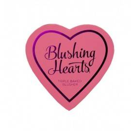 MAKEUP REVOLUTION BLUSHING HEARTS RÓŻ PEACHY KEEN HEART 10G