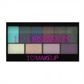 MAKEUP REVOLUTION OBSESSION WILD IS THE WIND ZESTAW 10 CIENI 17G