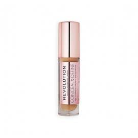 MAKEUP REVOLUTION KOREKTOR CONCEAL AND DEFINE CONCEALER C12