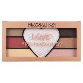 MAKEUP REVOLUTION PALETA CIENI LOVE THE REVOLUTION 21G