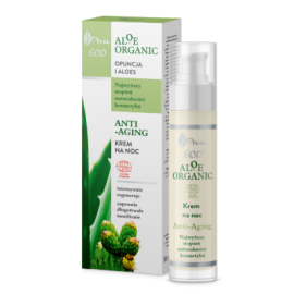 AVA ALOE ORGANIC KREM DO TWARZ NA NOC 50ML