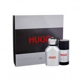 HUGO BOSS ICED ZESTAW WODA TOALETOWA SPRAY 75ML + DEZODORANT SZTYFT 75ML