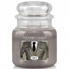 COUNTRY CANDLE ŚWIECA  GREY 453G
