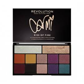 MAKEUP REVOLUTION CIEŃ PALETA X CARMI KISS FIRE