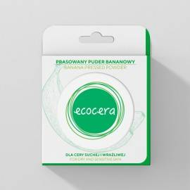 ECOCERA PRASOWANY PUDER BANANOWY 10G