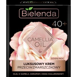 BIELENDA CAMELIA OIL LUKSUSOWY KREM DO TWARZY  DZIEŃ/NOC 40+ 50ML