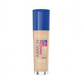 RIMMEL PODKŁAD MATCH PERFECTION FOUNDATION 30ML 101 CLASSIC IVORY