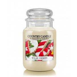 COUNTRY CANDLE ŚWIECA  SUGAR COOKIES 652G