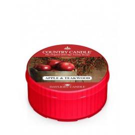 COUNTRY CANDLE ŚWIECA ZAPACHOWA 35G APPLE & TEAKWOOD