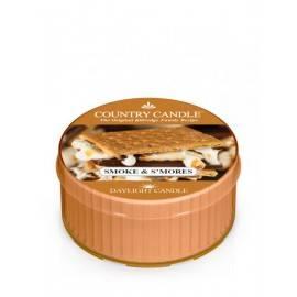 COUNTRY CANDLE ŚWIECA ZAPACHOWA 35G SMOKE & S'MORES
