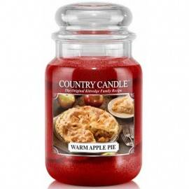 COUNTRY CANDLE ŚWIECA ZAPACHOWA 652G WARM APPLE PIE