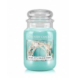 COUNTRY CANDLE ŚWIECA ZAPACHOWA 652G BABY IT'S COLD OUTSIDE