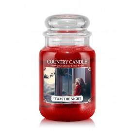 COUNTRY CANDLE ŚWIECA ZAPACHOWA 652G TWAS THE NIGHT