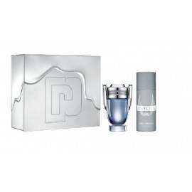 PACO RABANNE INVICTUS ZESTAW WODA TOALETOWA 100ML + DEO SPRAY 150ML