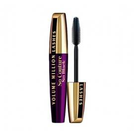 LOREAL TUSZ MASKARA MILLION LASHES SO COUTURE SO BLACK