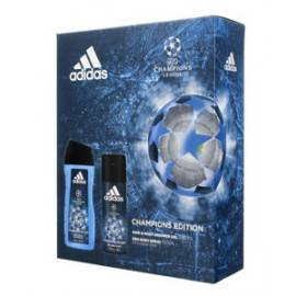 ADIDAS UEFA CHAMPIONS LEAGUE ZESTAW DEZODORANT SPRAY 150ML+ŻEL POD PRYSZNIC 2W1 250ML