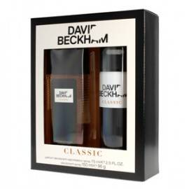 DAVID BECKHAM CLASSIC ZESTAW DEZODORANT SPRAY 150ML+DEZODORANT NATURALNY SPRAY 75ML