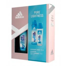 ADIDAS PURE LIGHTNESS ZESTAW DEO SPRAY 150ML+DEO W SZKLE 75ML