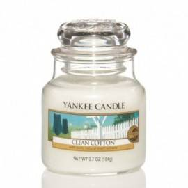 YANKEE CANDLE ŚWIECA 104G CLEAN COTTON