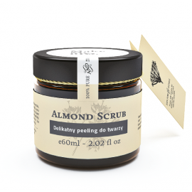 MAKE ME BIO ALMOND SCRUB PEELING DO TWARZY DELIKATNY 60ML