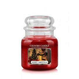 COUNTRY CANDLE ŚWIECA 453G MERRY CHRISTMAS
