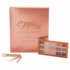MAKEUP REVOLUTION ZESTAW UPOMINKOWY  PARTY SOPH COLLECTION