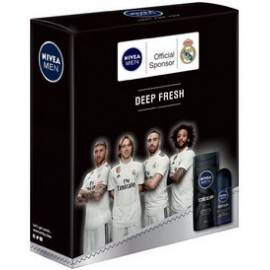 NIVEA ZESTAW MEN DEEP FRESH'2 ŻEL POD PRYSZNIC+ DEO ROLL-ON